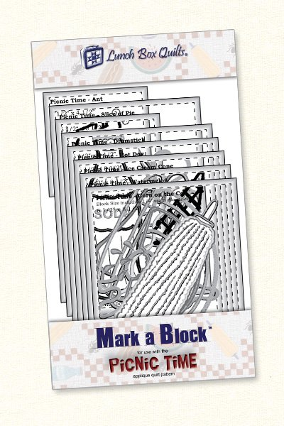 Mark-a-Block Picnic Time