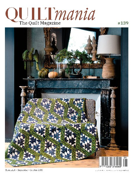 Quiltmania Magazine QM N139 Sept-Oct 2020