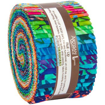 Totally Tropical Jelly Roll from Artisan Batiks