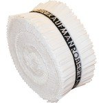 Kona Cotton Solids - White Jelly Roll