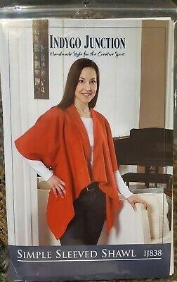 Simple Sleeved Shawl Pattern
