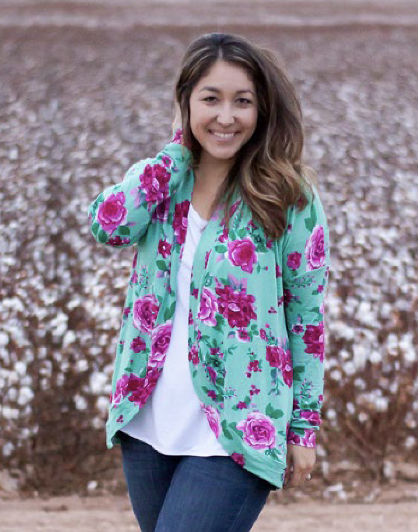 Serger Club Cocoon Cardigan