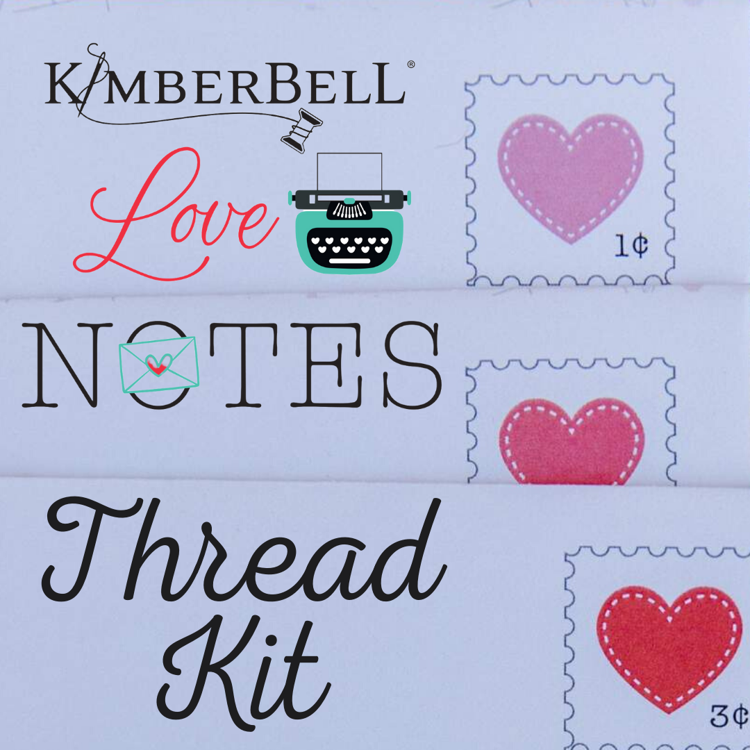 Kimberbell Love Notes Thread Kit