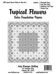 Tropical Flowers Extra Foundation Papers