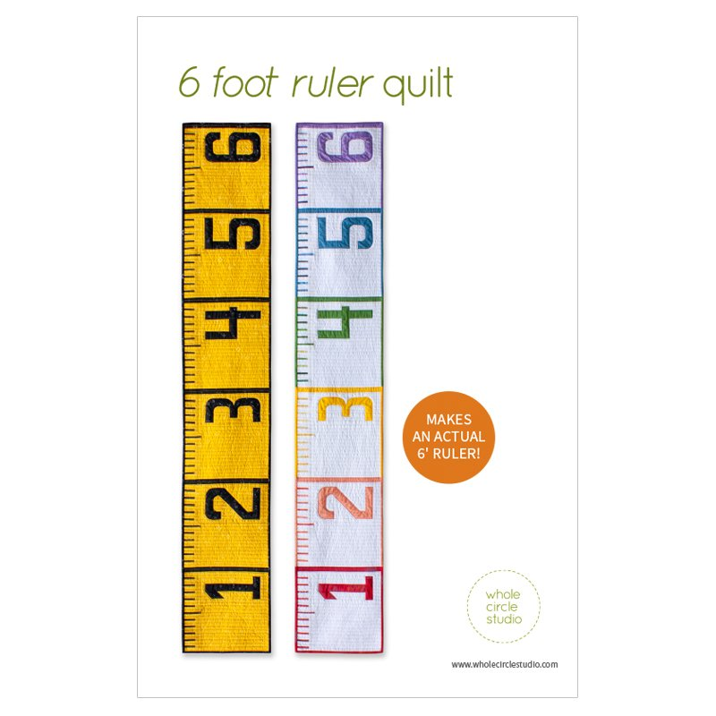 6 foot ruler quilt pattern