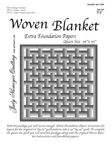 Woven Blanket Extra Foundation Papers