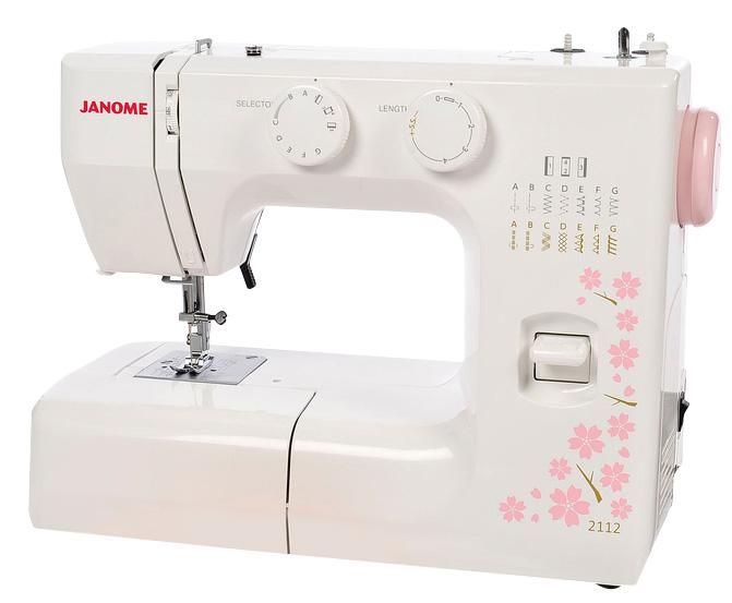 Janome Cherry Blossom 2112