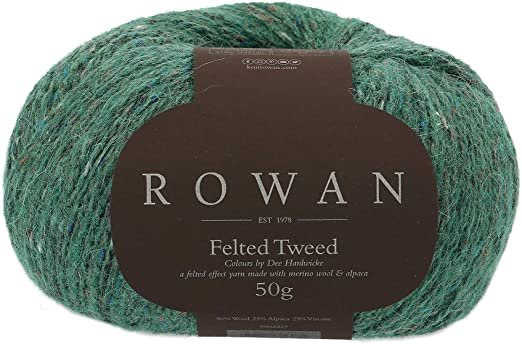 Felted Tweed -Hillside Green