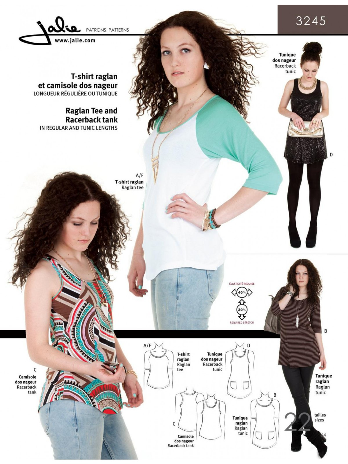 Raglan Tee and Tunics