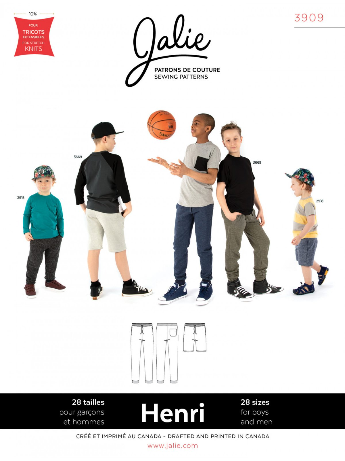 Henri Joggers & Shorts