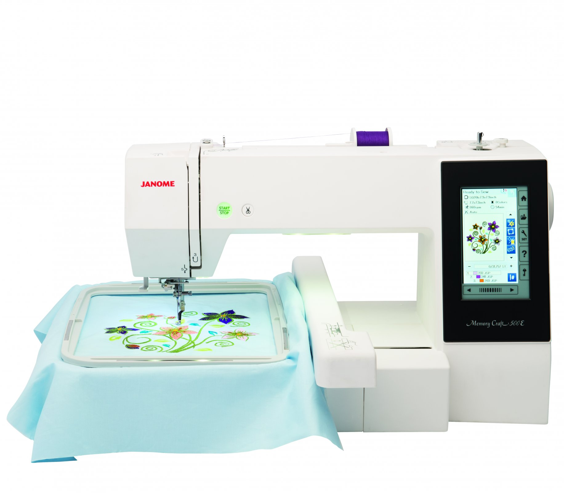 Janome 500E embroidery only