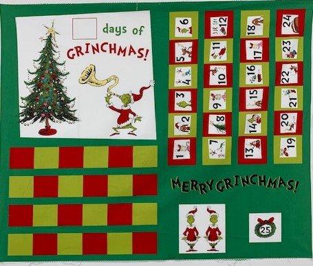 Grinch SC-Advent calendar