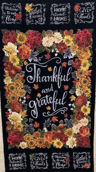 Thankful & Grateful Panel