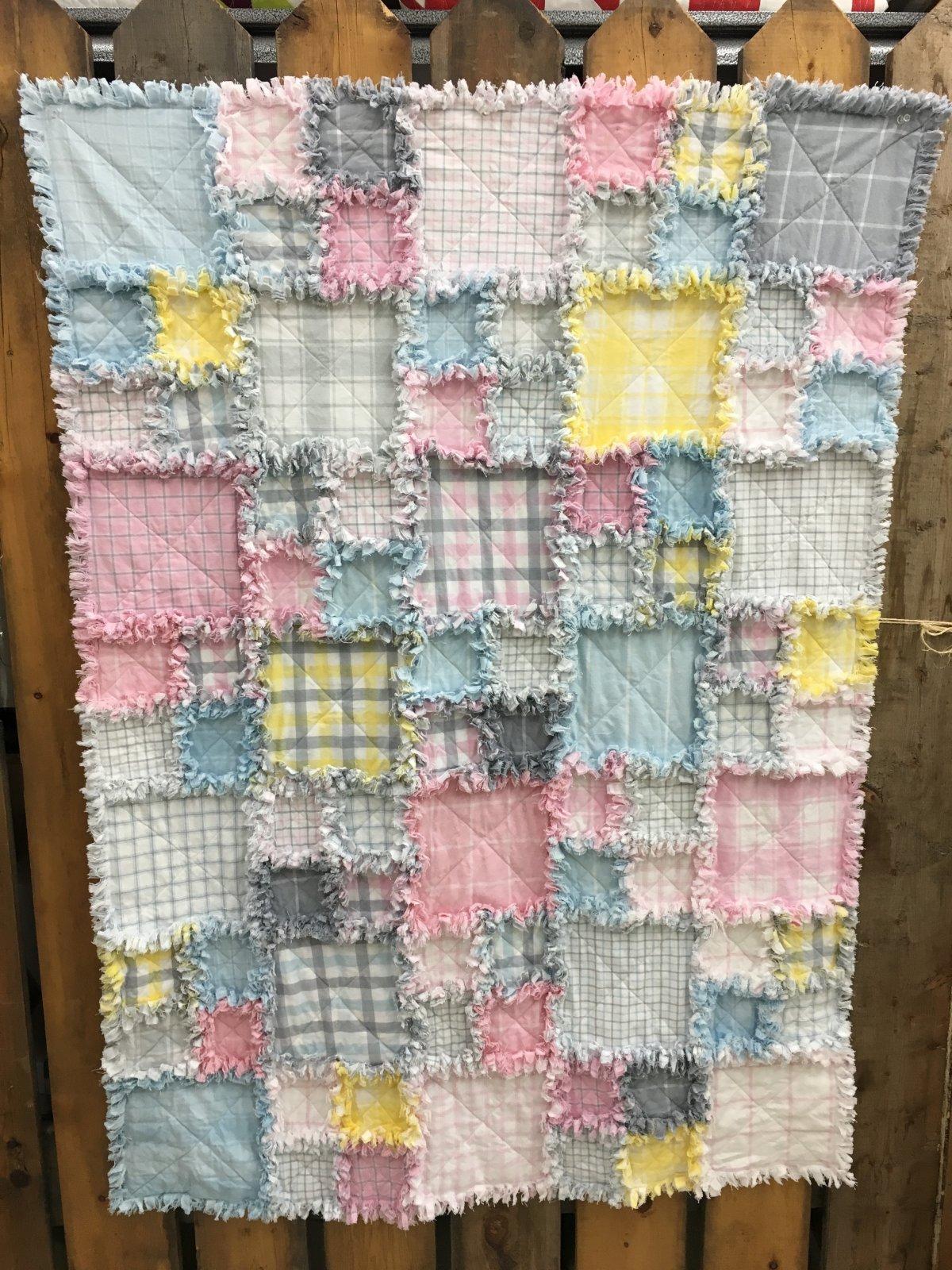 Baby Rag Quilt Kit