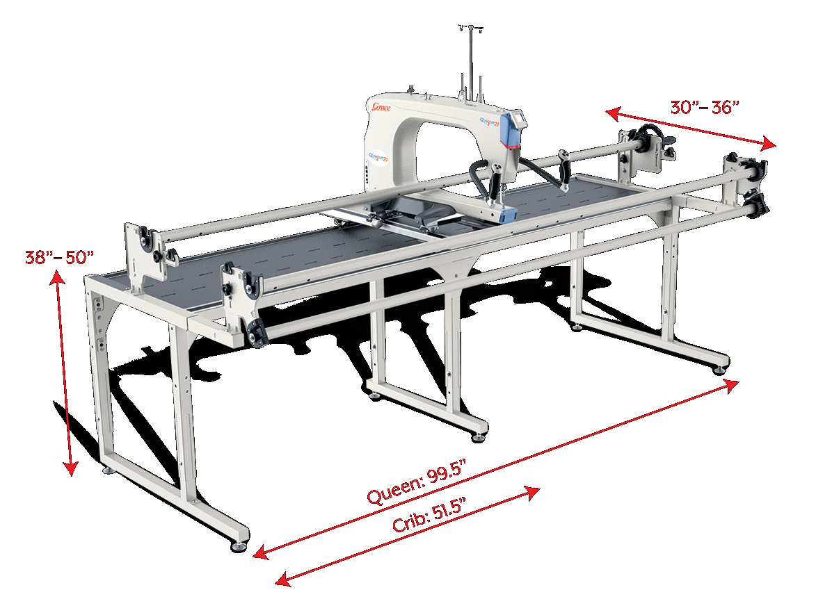 Q'nique 21 With Continuum Frame (8' Queen)