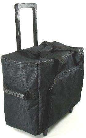 Black Sewing Machine Roller Case