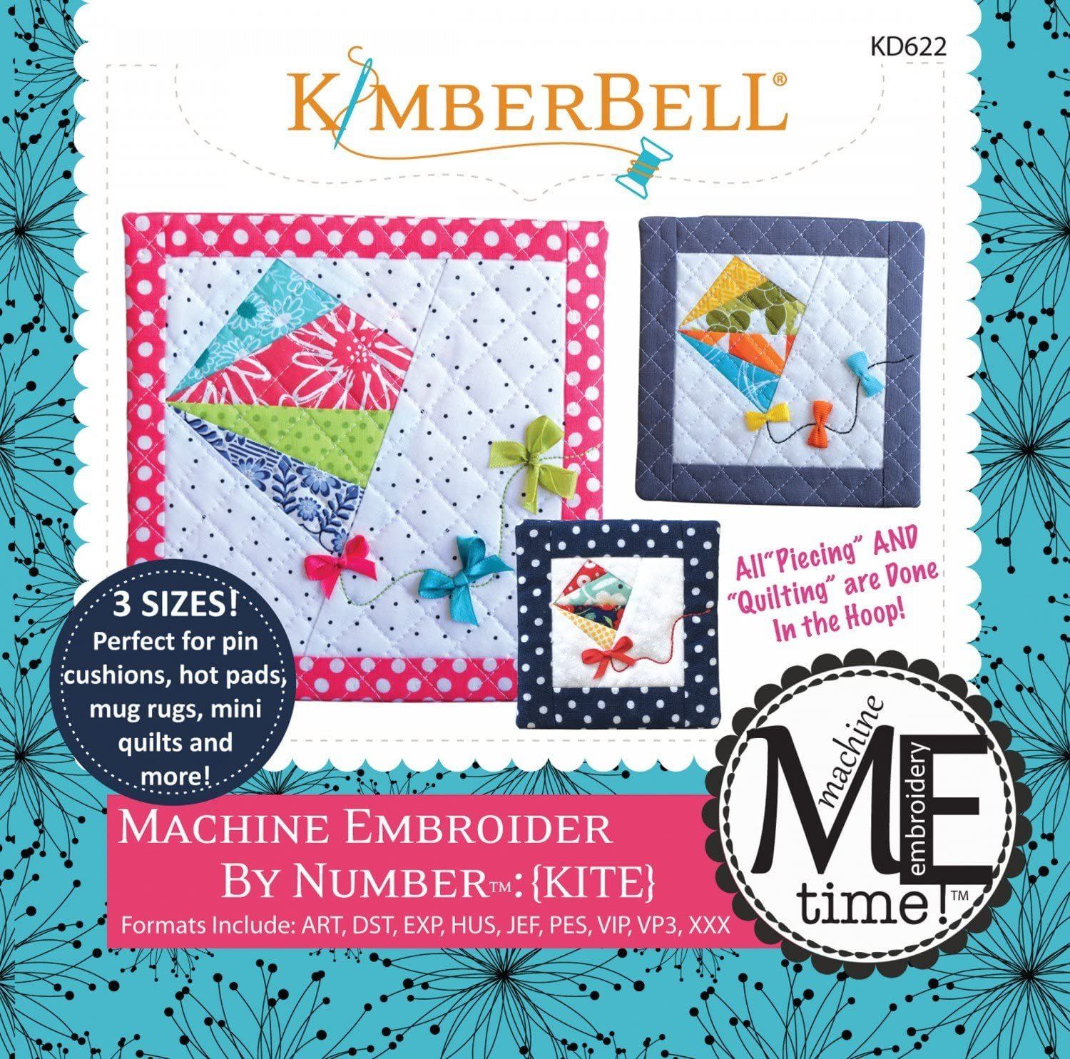 Kimberbell Mach Embroider By Number/Kite