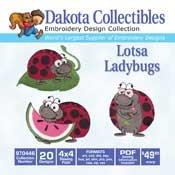 Dakota Collectables  Lotsa Ladybugs 970446