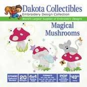 Dakota Collectibles Magical Mushrooms 970490