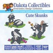 Dakota Collectibles Cute Skunks 970551