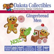 Dakota Collectibles Gingerbread Men 970554