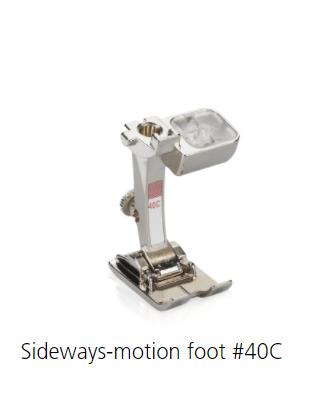 Bernina #40C Sideways-Motion 9mm - New