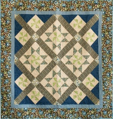 Turning Stars Quilt Pattern