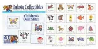 Dakota Collectibles Children's Quilt Stitch