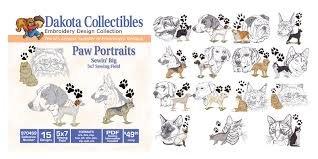 Dakota Collectibles Paw Portraits 970469