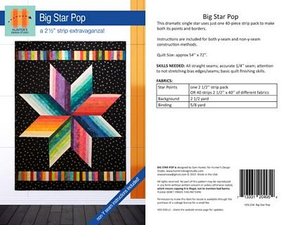 HDS Big Star Pop