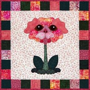 Bloomin' Dogs Pug Rose