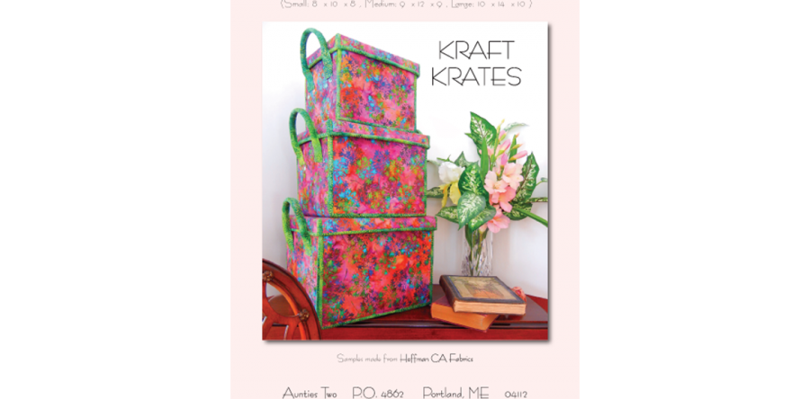 Aunties Two Patterns Kraft Krates