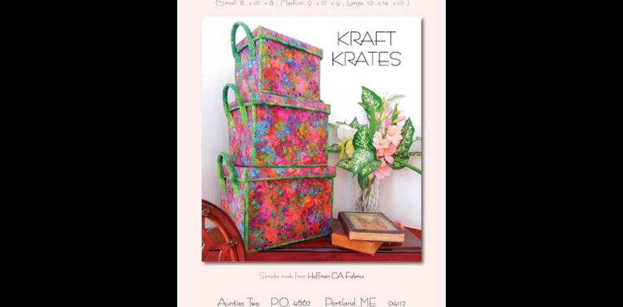 Aunties Two Patterns Kraft Krates