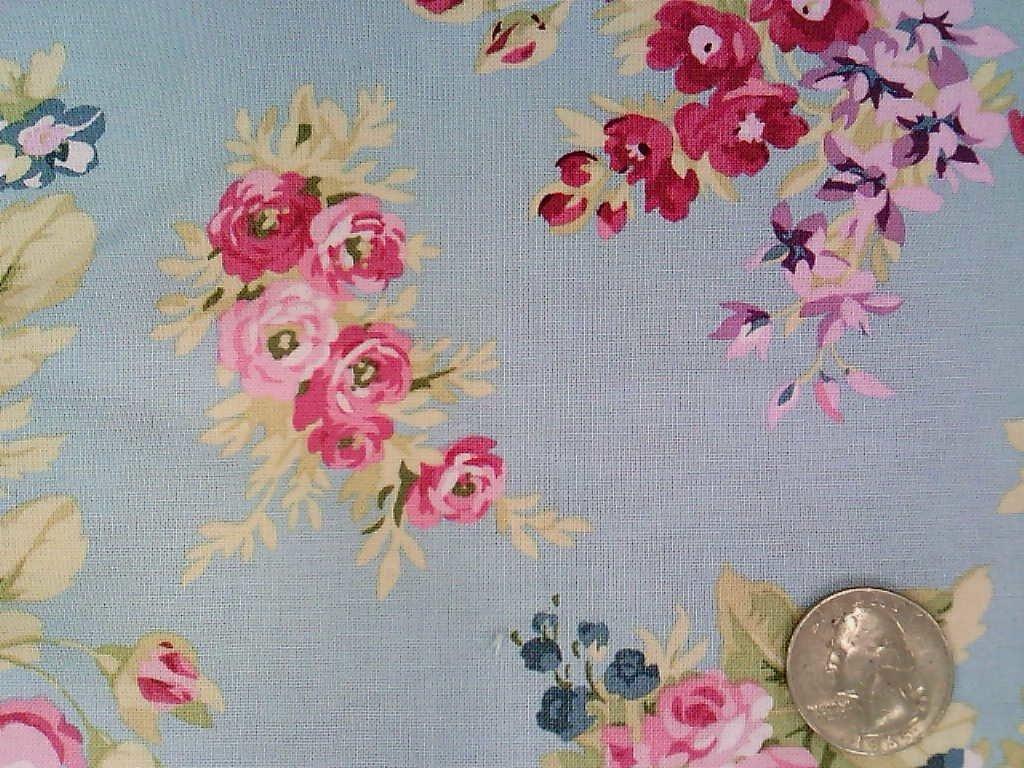 Anne Floral Blue
