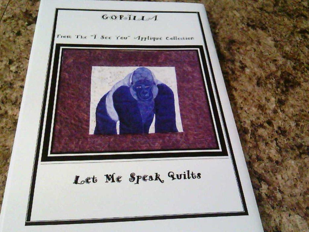 Gorilla / Let Me Speak Quilts