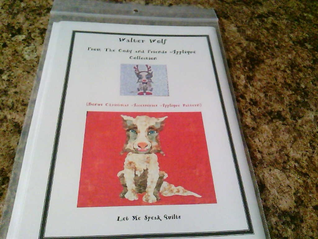 Walter Wolf / Let me Speak Quilts