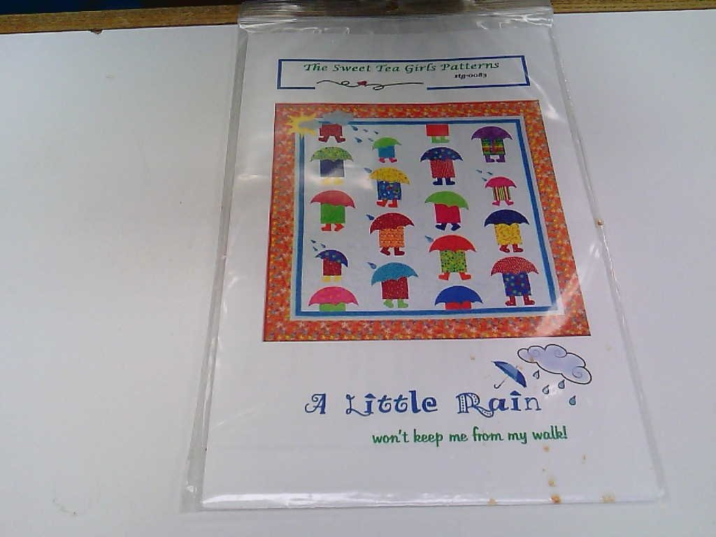 A Little Rain - Sweet Tea Girls Pattern