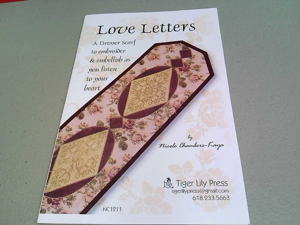 Love Letters tiger lilly press