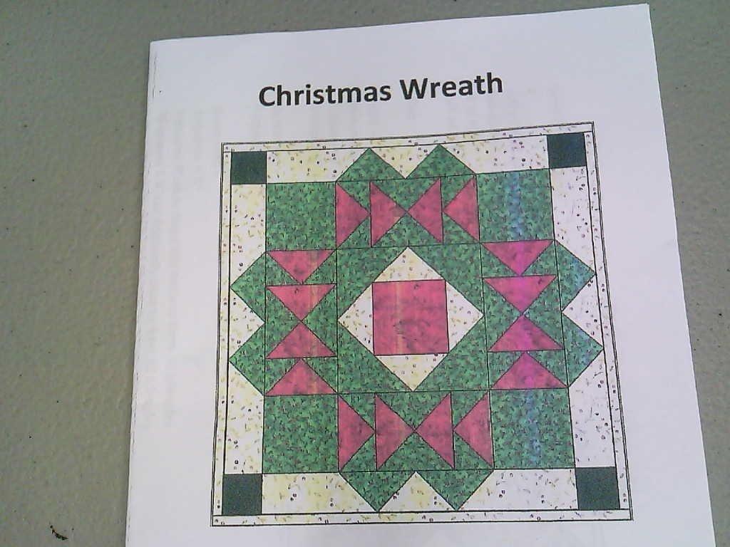 Christmas Wreath  Wall Hanging
