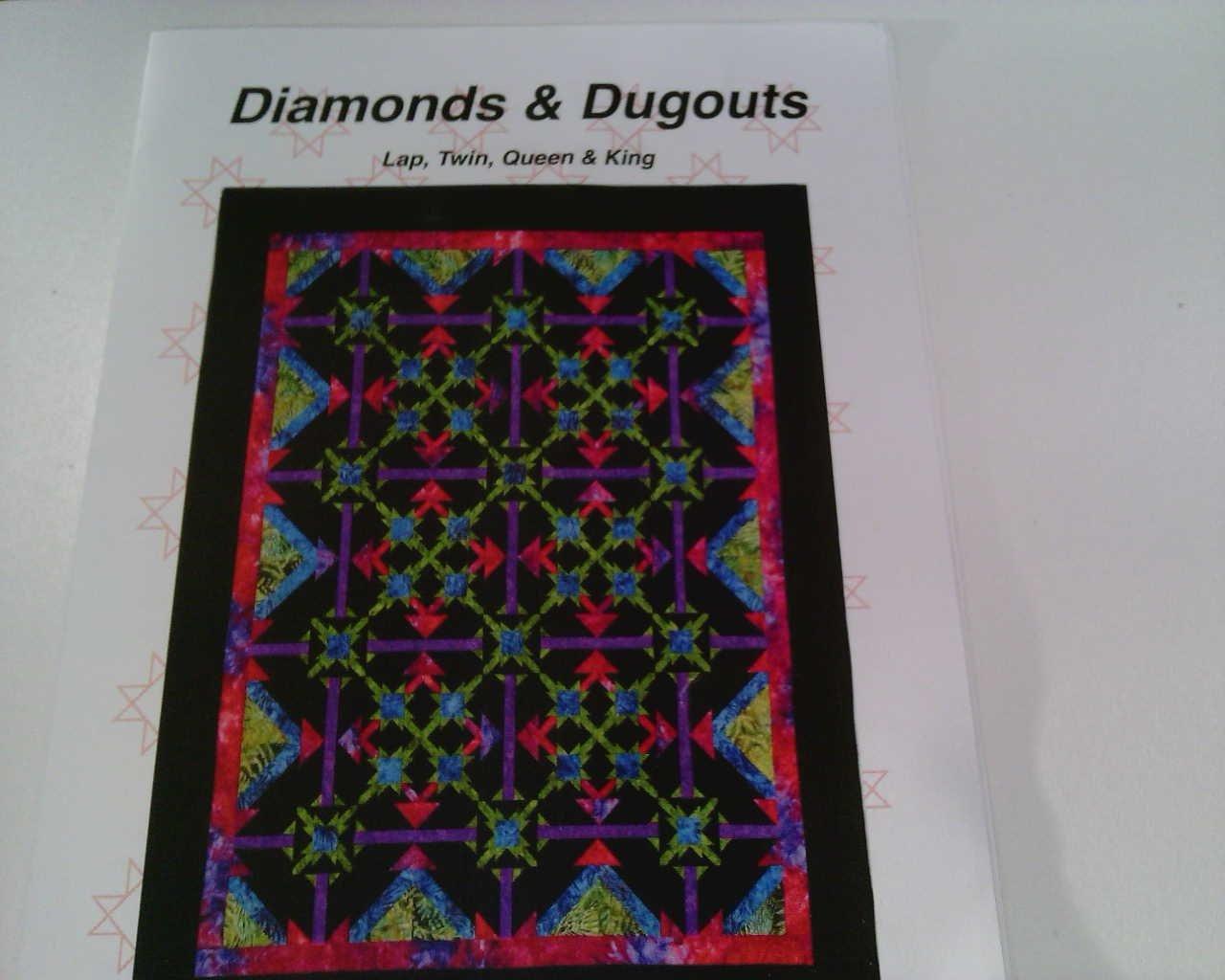 Diamonds & Dugouts Quilt Pattern