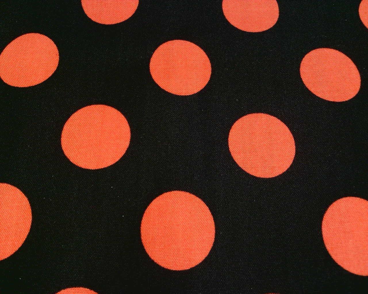 Black/Pumpkin W/Orange Dots MAS8216-JO