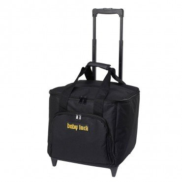 BABYLOCK SERGER TROLLEY BLACK WITH GOLD LOGO