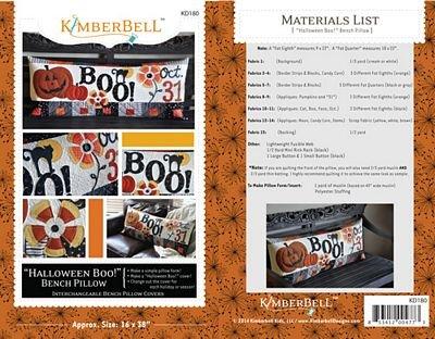 KimberBell Halloween Boo Pillow