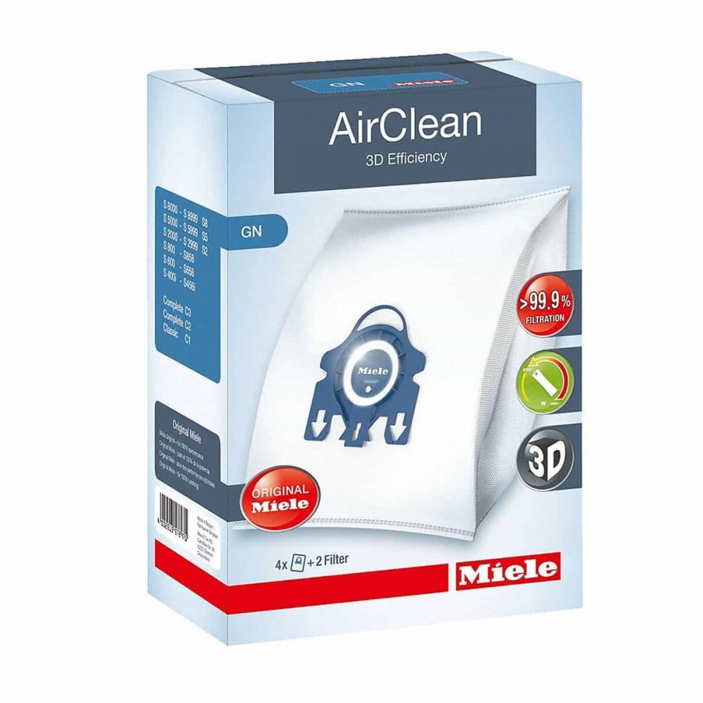 Miele Bag AirClean 3D Efficiency Filter Type GN