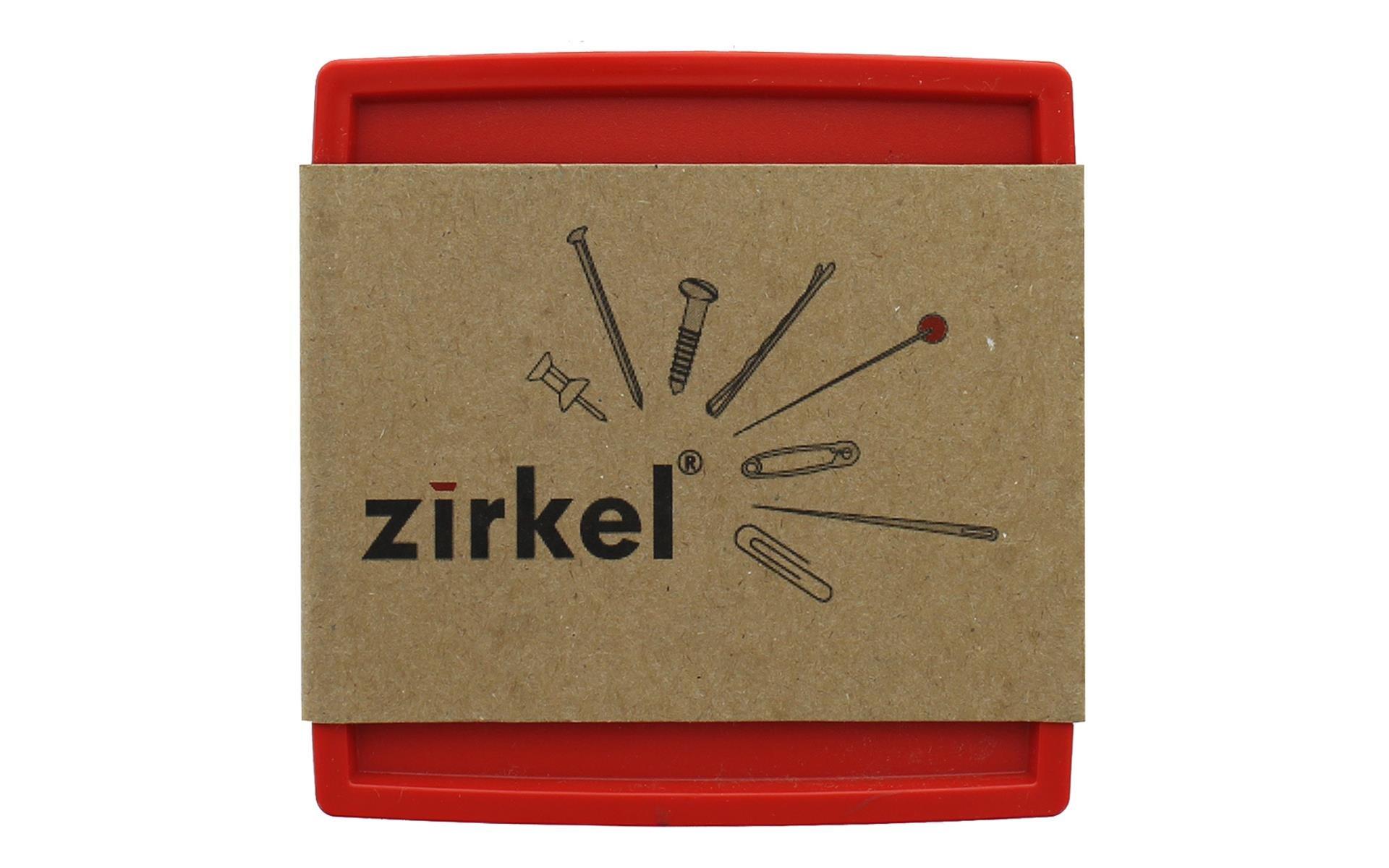 Zirkel Magnetic Pin Holder Red