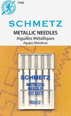 Schmetz Needle Metallic 12/80