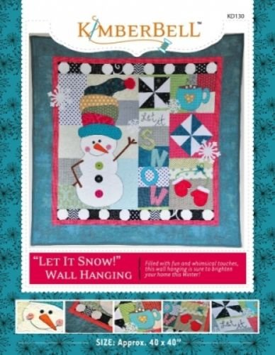 kimberbell Let It Snow Wall Hanging