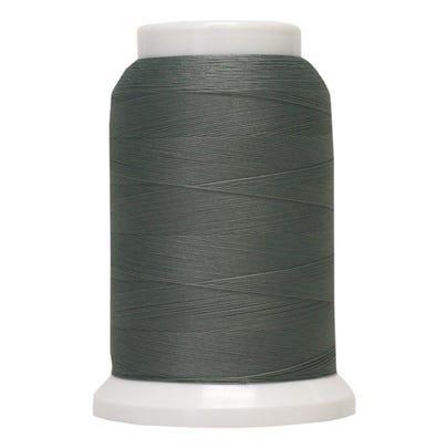 Poly Yarn 1000 yds mini cone Light Gray 747