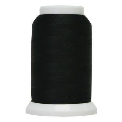 Poly Yarn 1000 yds mini cone Black 999