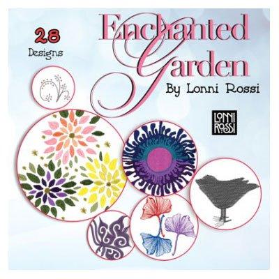 Enchanted Garden Embroidery CD